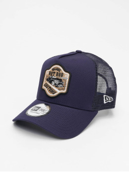 New Era Snapback Cap Hot Rod Trucker Pack blau