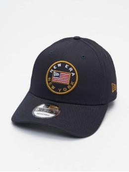 New Era snapback cap 9Forty Flagged blauw