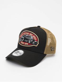 New Era Snapback Cap Hot Rod Trucker Pack braun