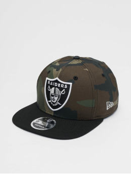 New Era Snapback Cap Oakland Raiders camouflage
