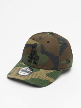 New Era Snapback Cap MLB LA Dodgers Essential camouflage