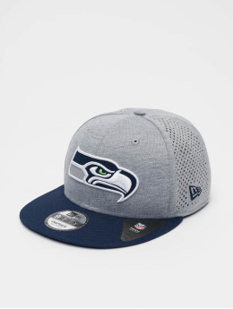 New Era Snapback Cap NFL Seattle Seahawks Shadow Tech 9fifty grau