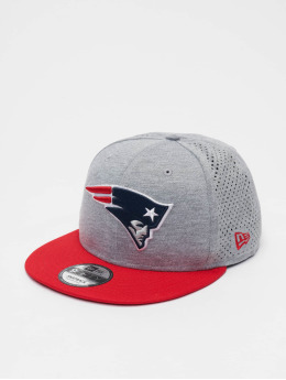 New Era Snapback Cap NFL New England Patriots Shadow Tech 9fifty grau