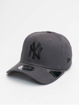 New Era Snapback Cap MLB NY Yankees Tonal Stretch grau