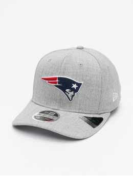 New Era Snapback Cap NFL New England Patriots Heather Base 9Fifty  grau