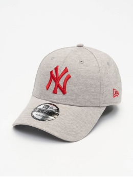 New Era Snapback Cap MLB NY Yankees Jersey Essential 9Forty grau