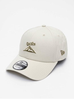New Era Snapback Cap NE Camp grau