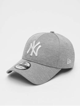 New Era Snapback Cap MLB NY Yankees Shadow Tech 9forty grey
