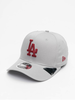 New Era Snapback Cap MLB LA Dodgers Tonal Stretch 9Fifty  grigio