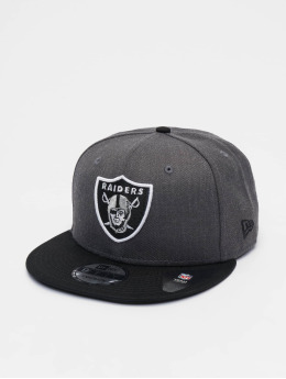 New Era snapback cap NFL Heather Oakland Raiders 9Fifty grijs