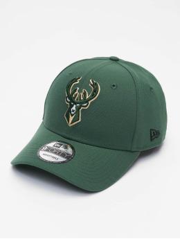 New Era Snapback Cap NBA Milwaukee Bucks The League grün