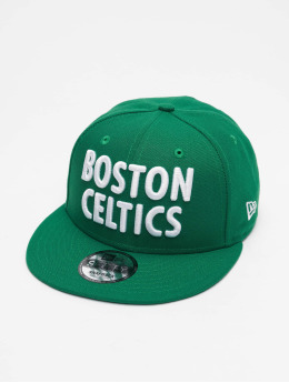 New Era Snapback Cap NBA20 Boston Celtics City Alt EM 9Fifty  grün