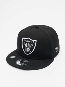 New Era Snapback Cap NFL Las Vegas Raiders Sideline Road 9Fifty nero