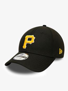 New Era Snapback Cap MLB Pittsburgh Pirates Team Contrast 9Fort nero