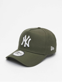 New Era snapback cap MLB NY Yankees League Esential A Frame olijfgroen