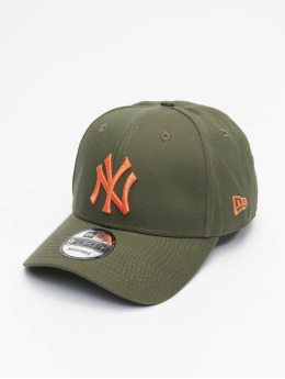 New Era snapback cap MLB New York Yankees League Essential 9Forty olijfgroen