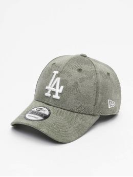 New Era Snapback Cap MLB LA Dodgers Engineered Plus 9Forty olive