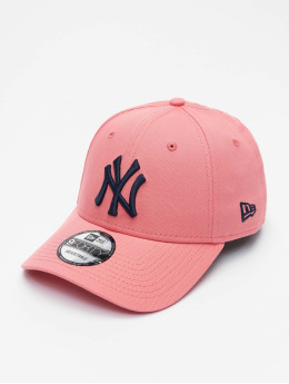 New Era Snapback Cap MLB New York Yankees League Essential 9Forty pink