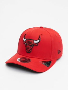 New Era snapback cap NBA Chicago Bulls Team Stretch 9Fifty rood