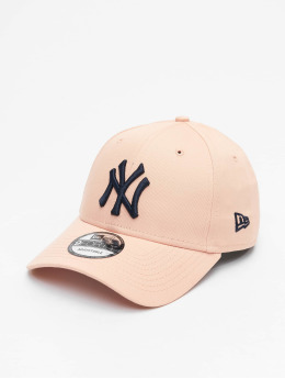 New Era Snapback Cap MLB NY Yankees 9Forty League rosa