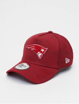 New Era Snapback Cap NFL New England Patriots Engineered Fit 9forty A-Frame rosso