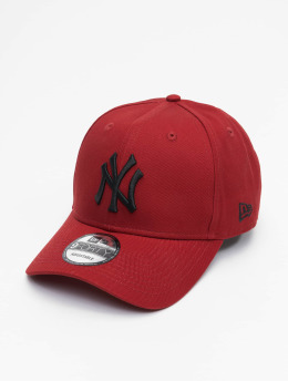 New Era Snapback Cap MLB New York Yankees League Essential 9Forty rosso