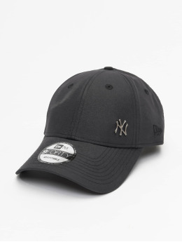 New Era Snapback Cap Flawless Logo Basic NY Yankees 9Forty schwarz