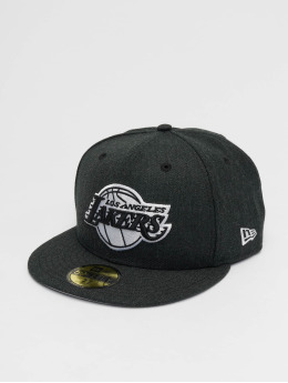 New Era Snapback Cap La Lakers schwarz