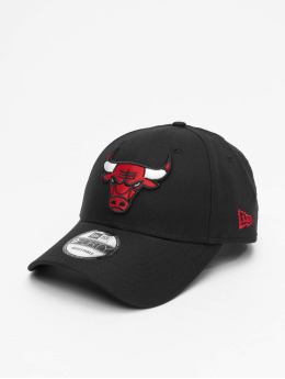 New Era Snapback Cap NBA Chicago Bulls Chambray League schwarz