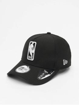 New Era Snapback Cap NBA Logo Base schwarz