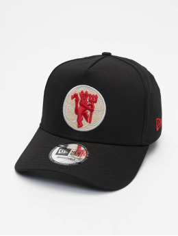 New Era Snapback Cap 9Forty A Frame Manchester United FC schwarz