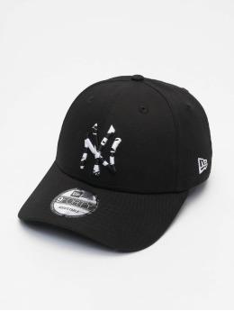 New Era Snapback Cap Infill New York Yankees 9Forty schwarz