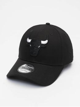 New Era Snapback Cap Nba Properties Chicago Bulls Black Base 9forty schwarz