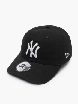 New Era Snapback Cap MLB New York Yankees Washed CSCL 9Twenty schwarz