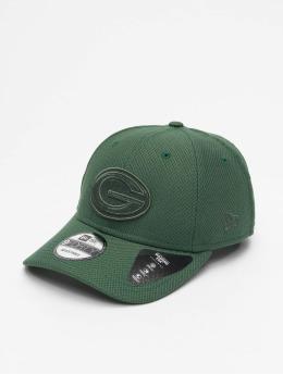 New Era Snapback Cap MLB Green Bay Packers Mono Team Colour 9Forty verde