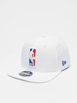 New Era Snapback Cap NBA Featherweight Logoman 9fifty Original Fit weiß