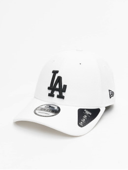 newest c32e5 ea9aa New Era Snapback Cap MLB Los Angeles Dodgers Diamond weiß