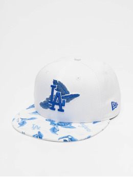 New Era Snapback Cap MLB Los Angeles Dodgers Desert Island 9fifty weiß
