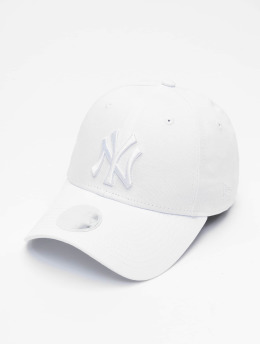 New Era Snapback Cap MLB NY Yankees Eshortsleeve 9forty weiß