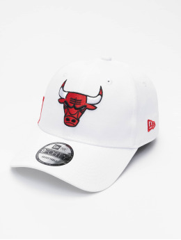 New Era Snapback Cap NBA Chicago Bulls Side Mark 9Forty weiß