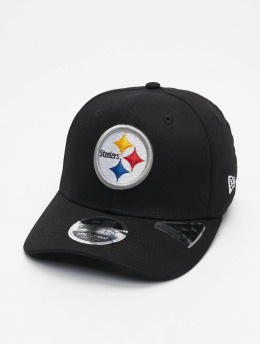 New Era snapback cap 9fifty Pittsburgh Steelers Strech zwart