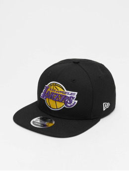 New Era Snapback Caps NBA LA Lakers 9Fifty Original Fit čern