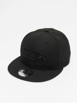 New Era Snapback Caps NFL Seattle Seahawks 9Fifty čern