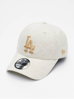 New Era Snapback Caps Jersey Ess Los Angeles Dodgers 9Forty beige