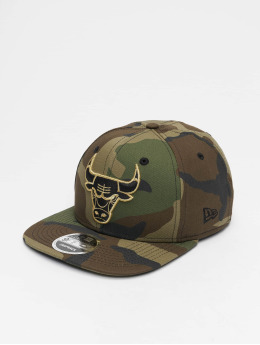 New Era Snapback Caps NBA Chicago Bulls 9Fifty Original Fit camouflage