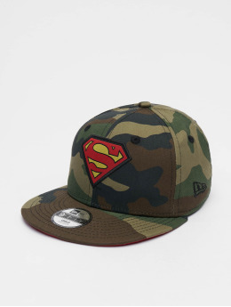 New Era Snapback Caps Character Superman 9Fifty camouflage