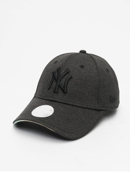 New Era Snapback Caps MLB NY Yankees Iridescent 9Forty czarny