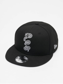 New Era Snapback Caps NBA20 Philadelphia 76ers City Alt EM 9Fifty czarny