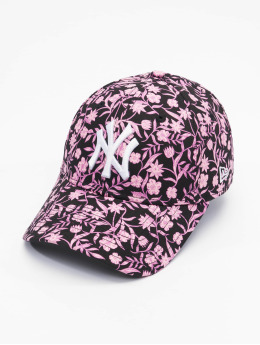 New Era Snapback Caps MLB Boston Red Sox Womens Floral czarny