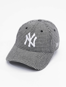 New Era Snapback Caps MLB New York Yankees Womens Houndstooth 9Forty czarny